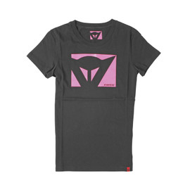 T-SHIRT COLOR NEW LADY BLACK/FUCHSIA- Casual Wear
