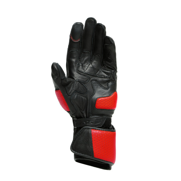 IMPETO GLOVES BLACK/LAVA-RED- Gloves