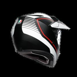 AX9 MULTI E2205 - PACIFIC ROAD MATT BLACK/WHITE/RED - AX9