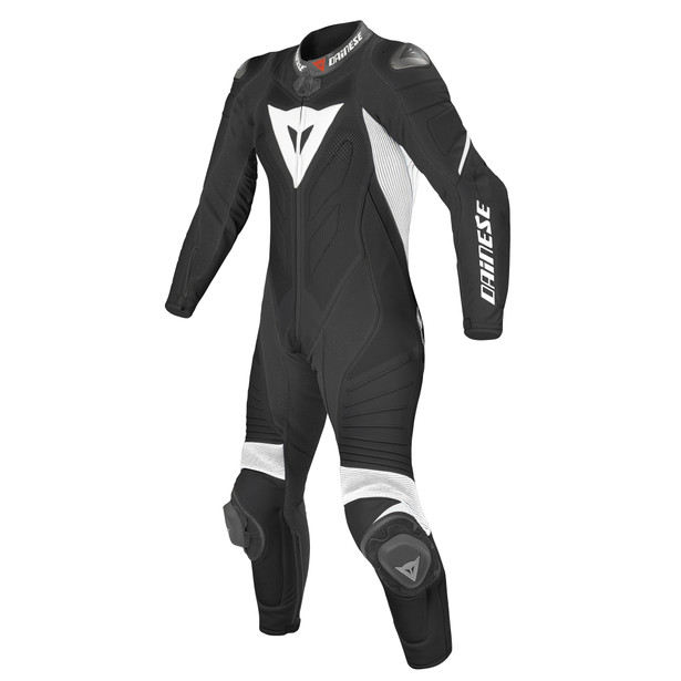 LAGUNA SECA EVO PERFORATED SUIT LADY BLACK/WHITE/WHITE- One Piece Suits