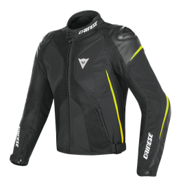 SUPER RIDER D-DRY JACKET BLACK/BLACK/FLUO-YELLOW