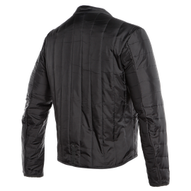 AVRO 4 PERF. LEATHER JACKET BLACK-MATT/BLACK-MATT/WHITE- Jackets