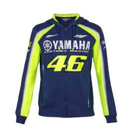 YAMAHA VR46 HOODIE BLUE-ROYAL-YAMAHA