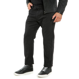 CLASSIC REGULAR TEX PANTS BLACK- Pantalons