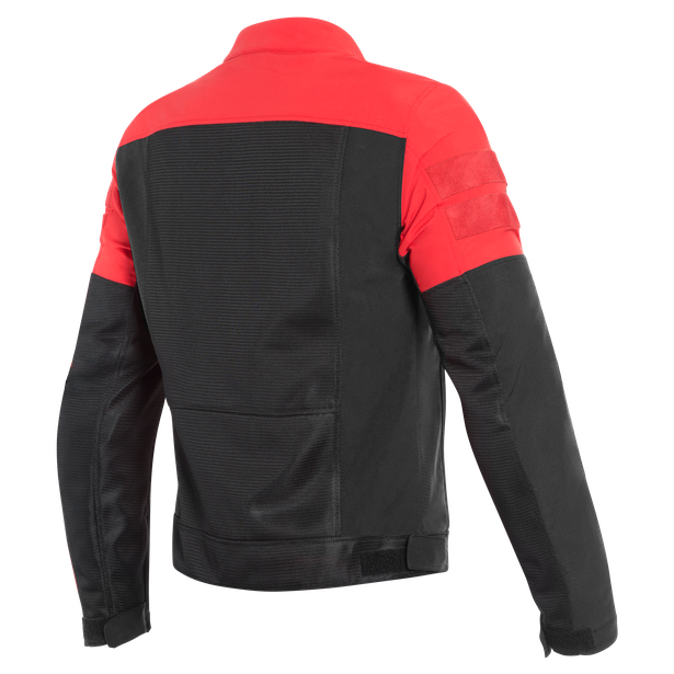 AIR-TRACK TEX JACKET BLACK/RED- Tessuto