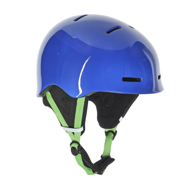 B-ROCKS HELMET SKY-BLUE/EDEN-GREEN- Helme