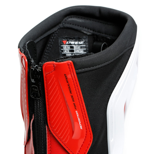 TORQUE 3 OUT BOOTS BLACK/WHITE/LAVA-RED- Pelle