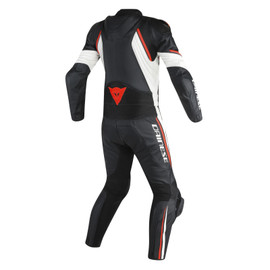 AVRO D2 2 PCS SUIT BLACK/WHITE/RED-FLUO- Two Piece Suits