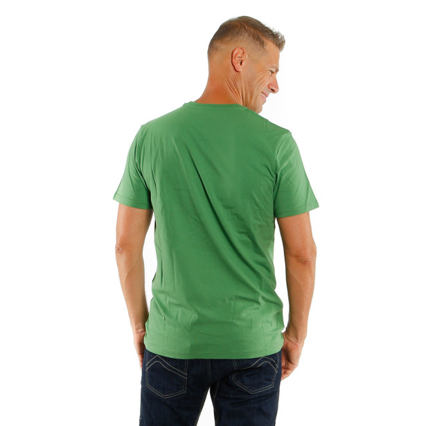 PADDOCK TRACK T-SHIRT GREEN/WHITE- undefined