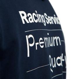 FELPA PADDOCK  BLACK-IRIS/WHITE- Casual Wear