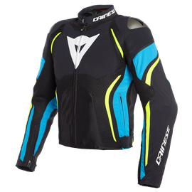 ESTREMA AIR TEX JACKET BLACK/FIRE-BLUE/FLUO-YELLOW
