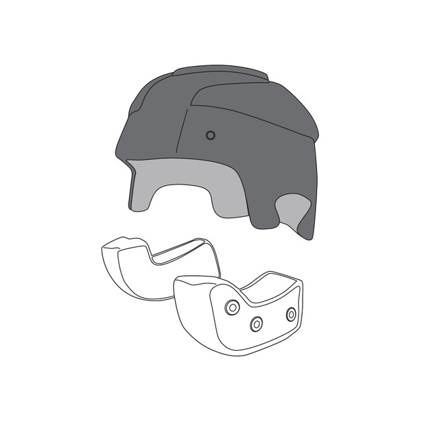 AGV CROWN PAD RP60 (L) - undefined
