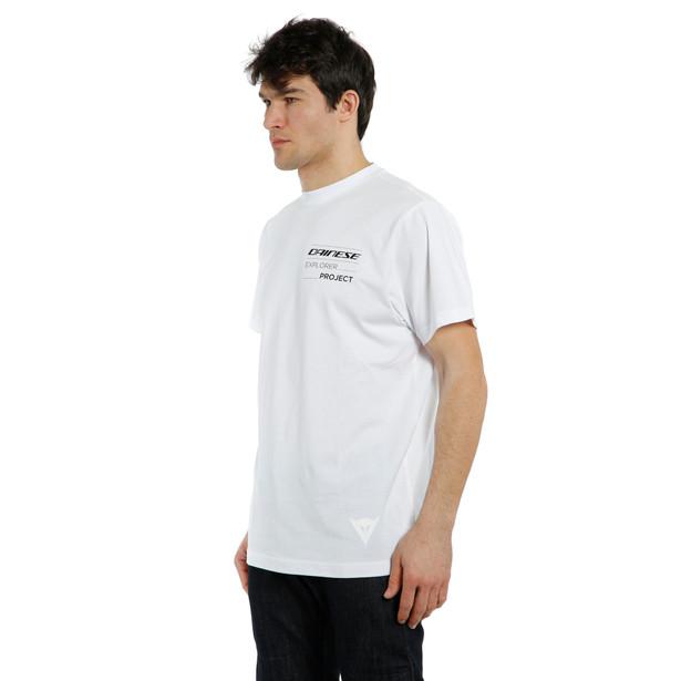 ADVENTURE LONG T-SHIRT WHITE/BLACK- Lifestyle