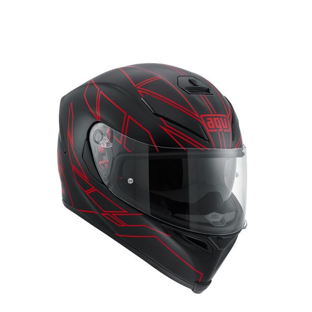 Motorcycle Sport Helmet K 5 S E2205 Multi Hero Black Red Agv Helmets Dainese Official Shop