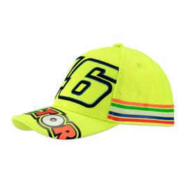46 STRIPES KID CAP FLUO-YELLOW