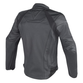 FIGHTER LEATHER JACKET - Leather