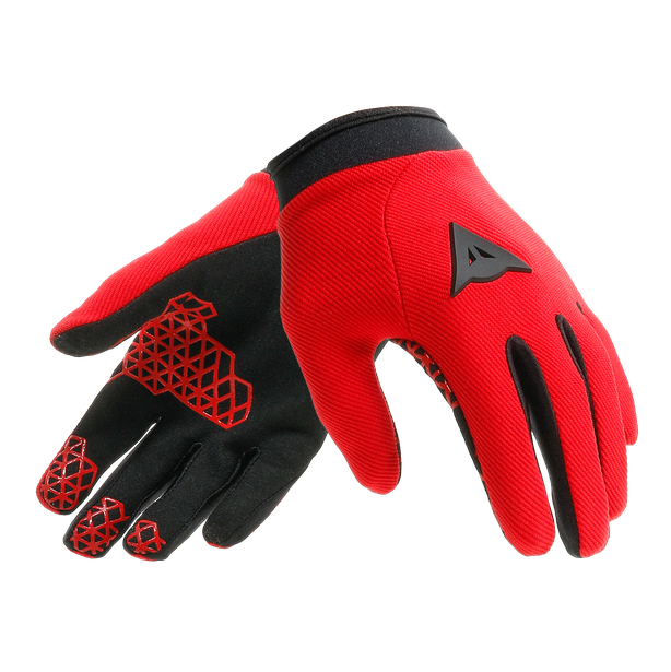 SCARABEO GLOVES LIGHT-RED/BLACK- Gants