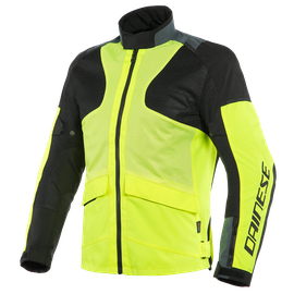 AIR TOURER TEX JACKET FLUO-YELLOW/EBONY/BLACK