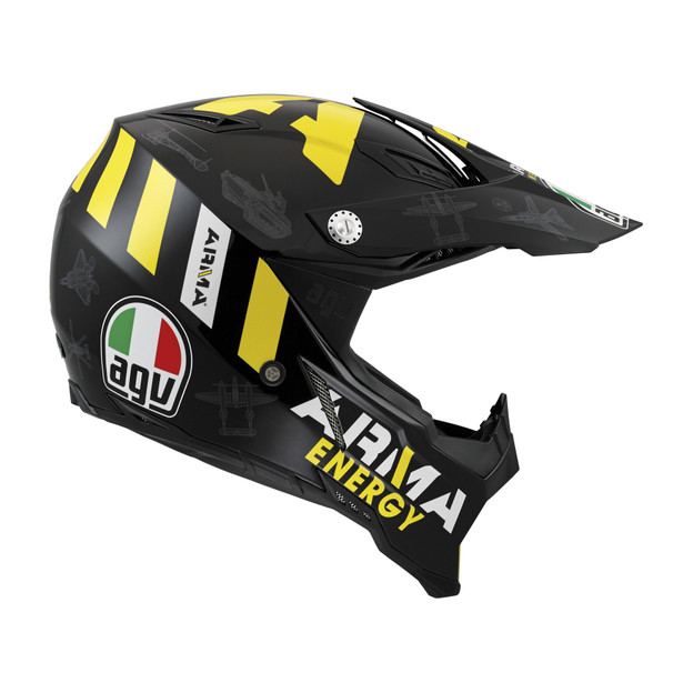 Viewing Images For AGV AX-8 Evo Naked Carbon Fiber Helmet
