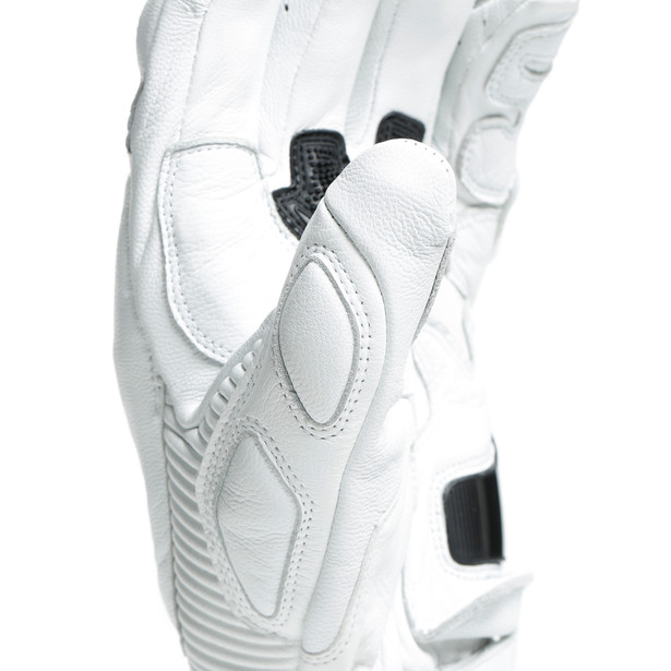 DRUID 3 GLOVES WHITE- Pelle