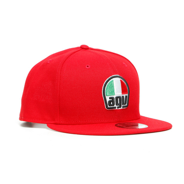 AGV 9FIFTY SNAPBACK CAP RED- Accessories