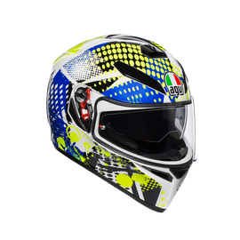 K3 SV MULTI ECE DOT - POP WHITE/BLUE/LIME