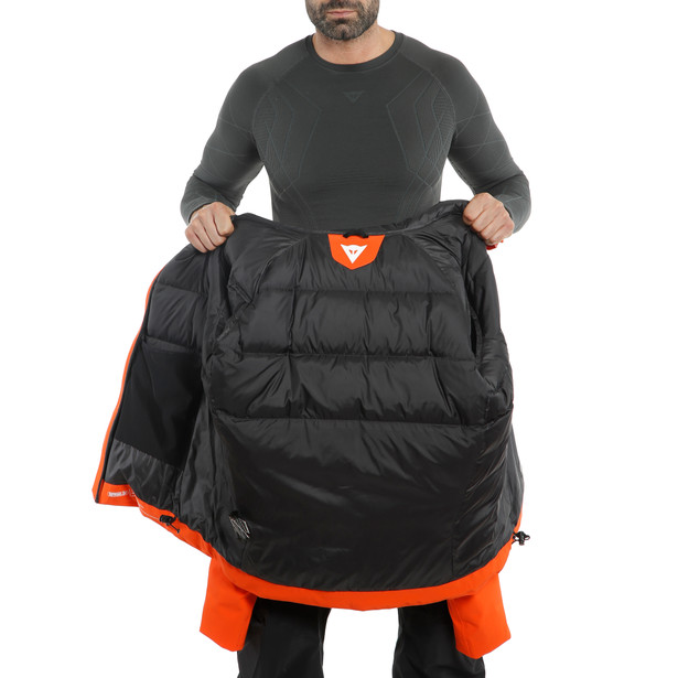 SKI DOWNJACKET MAN 2.0 CHERRY-TOMATO- Downjackets