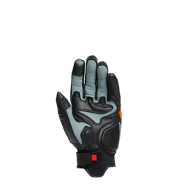 D-EXPLORER 2 GLOVES GLACIER-GRAY/ORANGE/BLACK- Leather