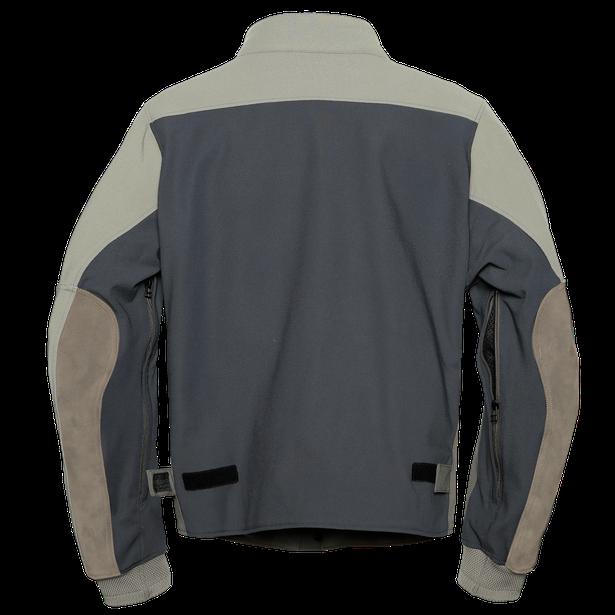 KAYES TEX JACKET FEATHER-GRAY/BUNGEE-CORD/EBONY- Textile