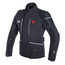 Cyclone D-air® jacket BLACK/WHITE- Chaquetas