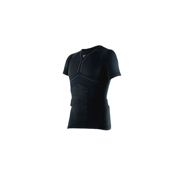 D-CORE THERMO TEE SS BLACK/ANTHRACITE- Shirts