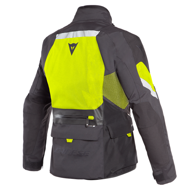 GRAN TURISMO GORE-TEX® JACKET BLACK/FLUO-YELLOW- Jackets