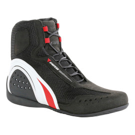 MOTORSHOE D-WP® SHOES JB BLACK/WHITE/RED- Chaussures