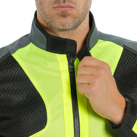 AIR TOURER TEX JACKET FLUO-YELLOW/EBONY/BLACK- Textile