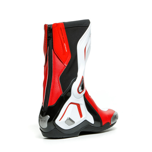 TORQUE 3 OUT AIR BOOTS BLACK/WHITE/LAVA-RED- Leder