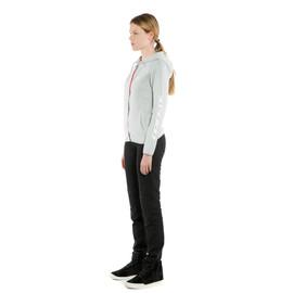 PADDOCK LADY FULL-ZIP HOODIE  GLACIER-GRAY/WHITE- Women Accessories