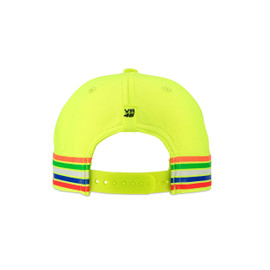 46 STRIPES KID CAP FLUO-YELLOW- VR46