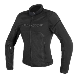 AIR FRAME D1 LADY TEX JACKET BLACK/BLACK/BLACK- Tessuto