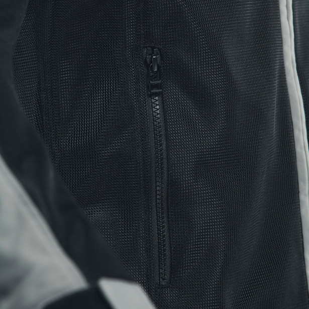 SEVILLA AIR TEX JACKET BLACK/CHARCOAL-GRAY- Textil