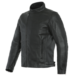 MARK D72 LEATHER JACKET BLACK/BLACK