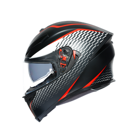 K5 S E2205 MULTI - THUNDER MATT BLACK/WHITE/RED - K5 S