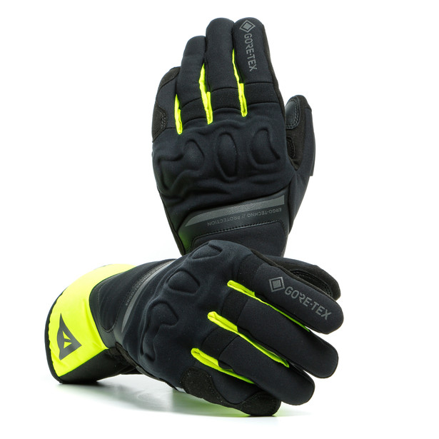 NEMBO GORE-TEX GLOVES+GORE GRIP TECHNOLOGY BLACK/FLUO-YELLOW- Gloves