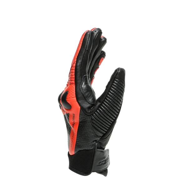 X-RIDE GLOVES BLACK/FLUO-RED- Gloves