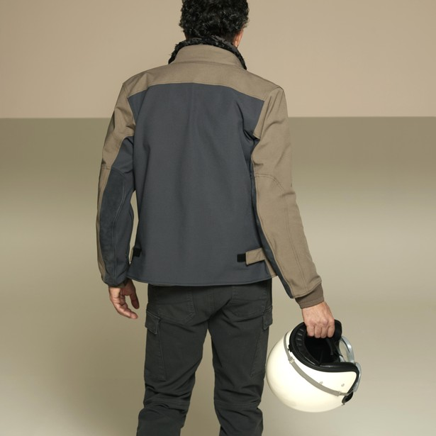 KAYES TEX JACKET FEATHER-GRAY/BUNGEE-CORD/EBONY- Jackets