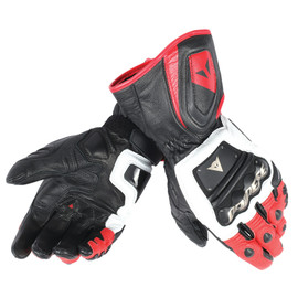 4 STROKE LONG GLOVES WHITE/RED/BLACK