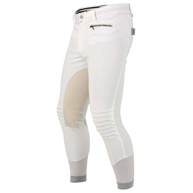 CIGAR PANTS WHITE- Hosen