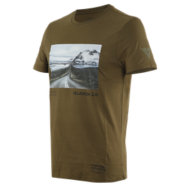 T-SHIRT ADVENTURE DREAM  MILITARY-OLIVE/BLACK