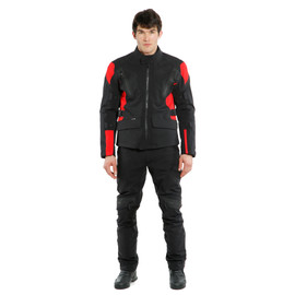 TONALE D-DRY® JACKET BLACK/LAVA-RED/BLACK- D-Dry®