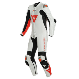MUGELLO RR D-AIR® PERF. SUIT WHITE/FLUO-RED