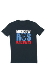 MOSCOW D1 T-SHIRT BLACK- Casual Wear